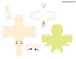 papercraft - England World Cup by Furesia