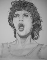 Young Mick Jagger by donna-j