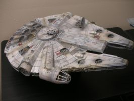 FineMolds Millennium Falcon 2 by BLUE-PROMETHEUS