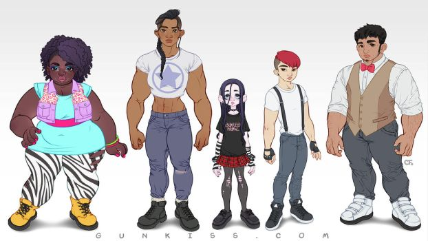 Oath Anthology: Character Lineup by CamiFortuna