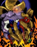 Thanos Collab by Wessel