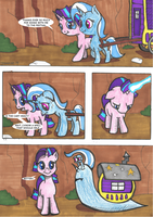 MLP short: Help by FrenkieArt