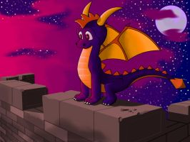 Spyro The Dragon by MyRedYoshi