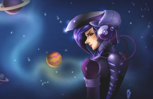 Space girl by Victoria-Star