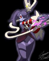 Squigly and Leviathan by LifeCodeDX95