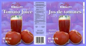 Equality Tomato Juice by nfcwave