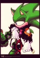 Scourge The Hedgehog by ZeroV5