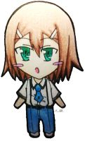 Hideyoshi in paper by relievez-z
