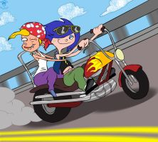 Nazz n' Marie: Live 2 Ride by TheEdMinistrator765