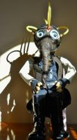 Revised End Of Days Steam Punk / Apocalyptic Doll by GhoulieDollies