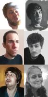 6 Portraits by Shabow
