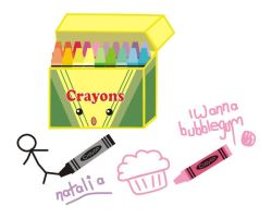 cute crayons by natalia-factory