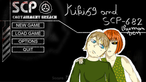Kiki69 And Scp-682 by zelda-458