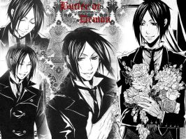 Sebastian Michaelis wallpaper by kilra03