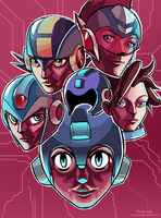 Megaman Compilation by Ja-me-thy