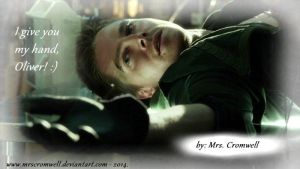 I give you my hand, Oliver! by MrsCromwell
