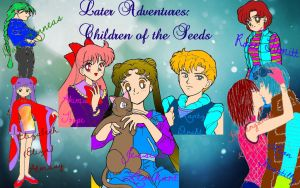 Later Adventures: Children Of The SeeDs Logo by Angel-of-Love