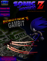 Sonic the Hedgehog Z #9 Cover Aug-Sept 2014 by CCI545