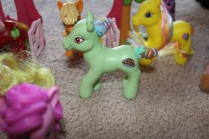 Young Granny Smith custom pony by angelacapel