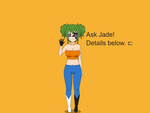 Ask Jade - Intro! (CLOSED!) by Brooms17