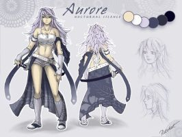 Aurore Charactersheet by ritchat