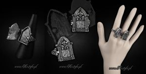 Tombstone Ring by Euflonica