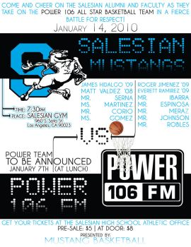 Salesian VS Power 106 LA by cookiellvllonster
