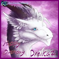 Happy Birthday: Dreikaz by Black-Wing24