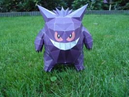 gengar papercraft by dodoman75