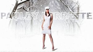 Pauley Perrette Abby in the Snow by Dave-Daring