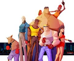 Streets of rage Tribute by jlenoury