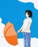 after the rain by saitamy