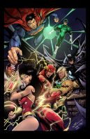 Justice league by nahp75