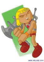 Chibi He-Man by markwelser