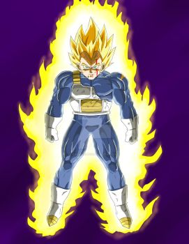 Super Vegeta by ChibiBardock