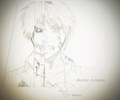 Eren Jaeger Draw by To-TheStars