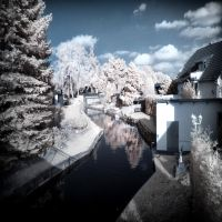 Little Venedig in the North of Berlin infrared by MichiLauke