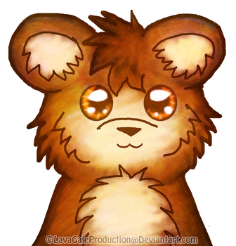 Brush Test Bear by LavaGaleProduction