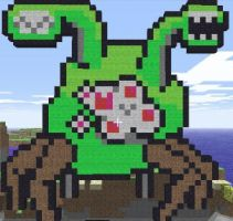 Minecraft - Arachnut by J3ounz