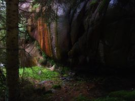 Wood cave by HatPup