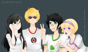 Beta kids- Homestuck by vinylah