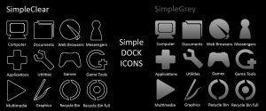 Simple Dock Icons by kendmd