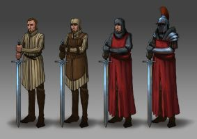 Armors study by Andy-Butnariu