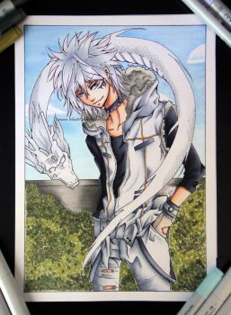 Copic AT: Byakuran - Katekyo Hitman Reborn! by Tiha90