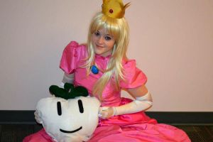 Princess Peach with the Turnip by THEM-Cosplayz