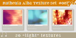 Texture Set 07: Light by Ruthenia-Alba