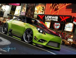 Nissan 350z Monster by Little-Nemesis