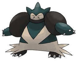MEGA SNORLAX by cscdgnpry
