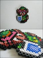Link (standing) bead sprite by 8bitcraft