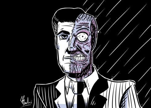 Two Face Noir by GonzRama87